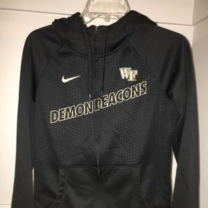 WF demon deacons jacket zip up